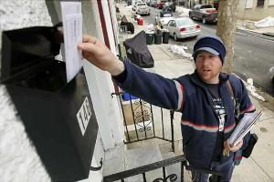 The U.S. Postal Service is pushing ahead with unprecedented cuts to first-class mail next spring that will slow delivery.